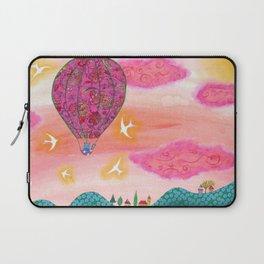 Pink Balloons Laptop Sleeve