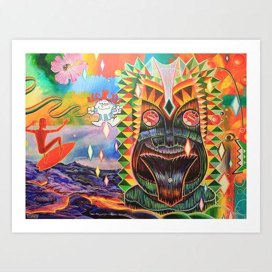 Punchy Art Print