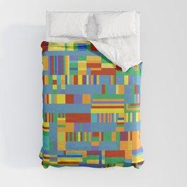 Chromatetude (Candy Colours) Duvet Cover