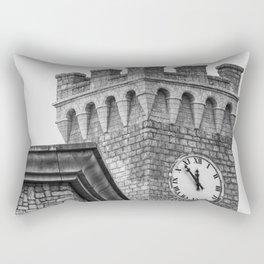 Old Clock Tower Rectangular Pillow
