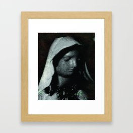 A Humble Mother Framed Art Print