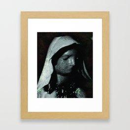 A Humble Mother Framed Art Print