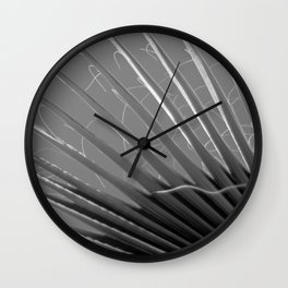 Old Palm Wall Clock