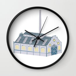 Little Factory Wall Clock