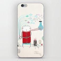 Knock Knock Knock iPhone & iPod Skin