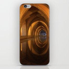 Baths of the Alcazar, Seville iPhone Skin