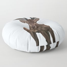 Stag Floor Pillow