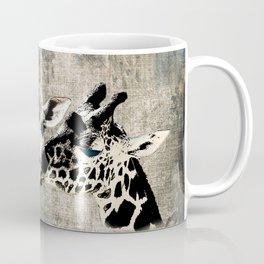 Snuggle Bug Giraffes Coffee Mug