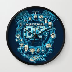 AWESOME 80s Wall Clock