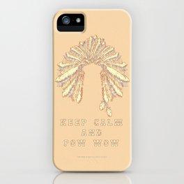 POW WOW - 043 iPhone Case