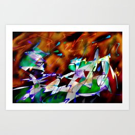 Abstract Inc. Art Print