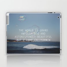 BUT I LOVE CALIFORNIA Laptop & iPad Skin