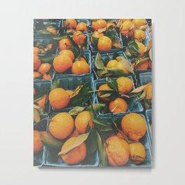 Oranges Metal Print
