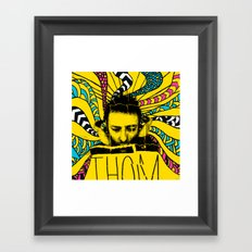 Thom Yorke Nightmare Framed Art Print
