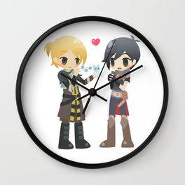 Dragon Age - Anders and Hawke Wall Clock