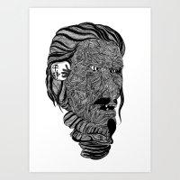 Mempo Art Print