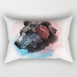 Mother Bear Rectangular Pillow