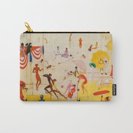 African American Masterpiece 'Summertime, Asbury Park, South' by Florine Stettheimer Carry-All Pouch