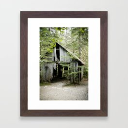 abandoned (Oregon) Framed Art Print