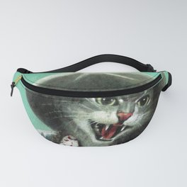 Vintage Kitten Cowgirl Fanny Pack