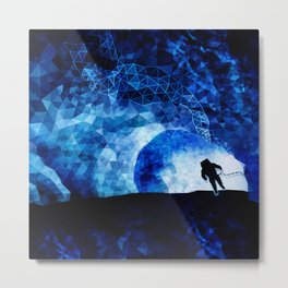 out of space Metal Print