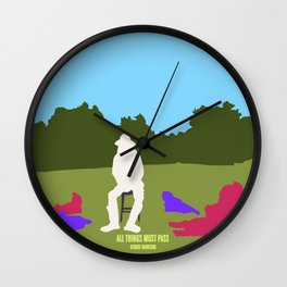 All Things Must Pass Wall Clock
