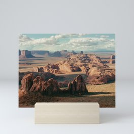 Monument Valley Overview Mini Art Print