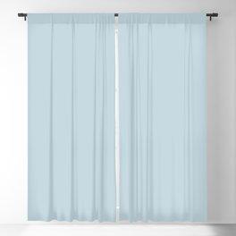 Solid Blue Plain Beau Blue Monochrome  Blackout Curtain