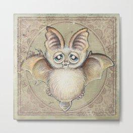 Bat Tito Metal Print
