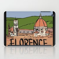 florence iPad Cases featuring Florence by Logan_J