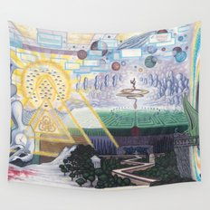 Away We Go Wall Tapestry