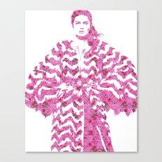Chevron: Fashion Canvas Print