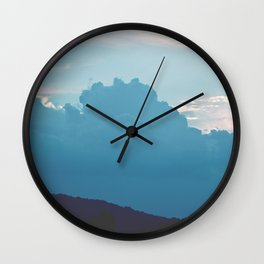 Cloudy Day Wall Clock