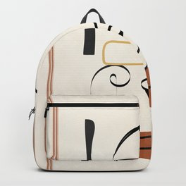Abstract Minimal Line XI Backpack