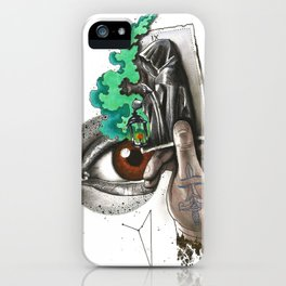 Search IX Noli foras ire, inter ipsum redi iPhone Case