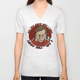 Twin Peaks . Man from another place Unisex V-Neck