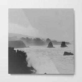 Misty Cliffs of the Soul Metal Print