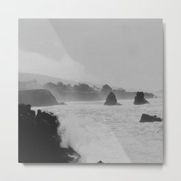 Misty Cliffs of the Soul Metal Print