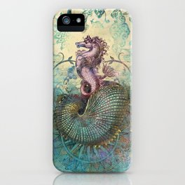 The Seahorse Diary iPhone Case
