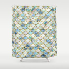 teal and gold shower curtain. Mermaid Scales Pattern in Blue and Gold Shower Curtain Iridescent Curtains  Society6