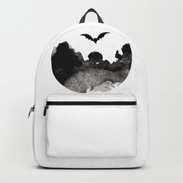 Primitive Halloween Moon Phase Backpack