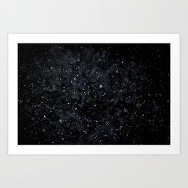 Snowfall 2 Art Print