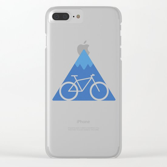 Off The Beaten Track Clear iPhone Case