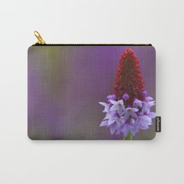 Photograph of a Primula Vialii (Chinese Pagoda Primrose) Carry-All Pouch
