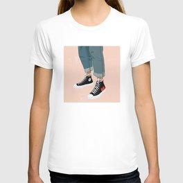 Hidden Heart - All Star Converse T-shirt