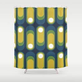 MCM Kapsel Shower Curtain