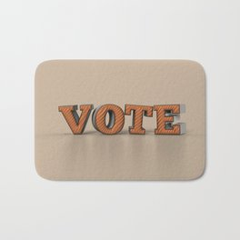 Vote Bath Mat