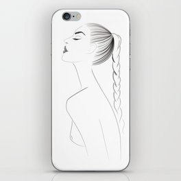 sexy naked woman iPhone Skin