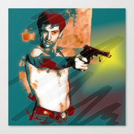 Hollywood Icons - Mr DeNiro Canvas Print