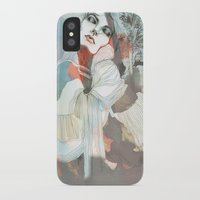 death iPhone & iPod Cases featuring Death  by Felicia Cirstea